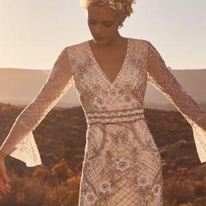 BHLDN Turner Wedding Gown NEW Size 2